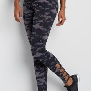 Maurices InMotion Camo Print Leggings Cutout XL
